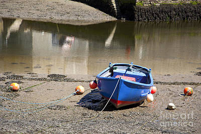 Tidal River Photograph - Rowing Boat by Jane Rix