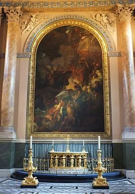 Royal Naval Chapel Photograph - Royal Naval Chapel Interior by Anna Villarreal Garbis