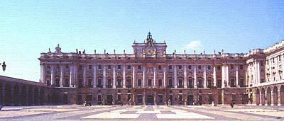 Royal Palace Madrid Print by Steve Huang