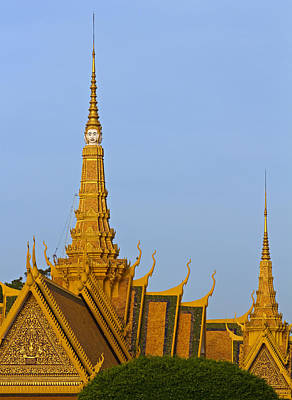 Royal Palace Roof. Print by David Freuthal