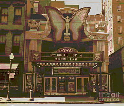 1939 Movies Photograph - Royal Theater Cincinnati by Padre Art