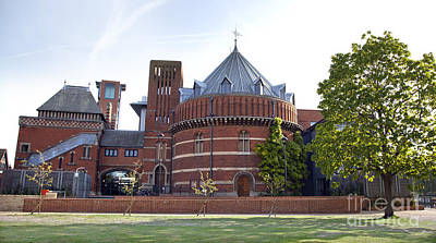Shakespeare Photograph - Rst And Swan Theatre by Jane Rix