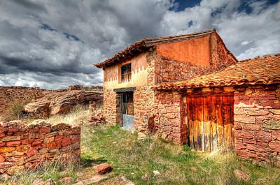 Teruel Photograph - Ruin At Albarracin by Jon Jones