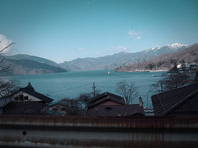 Shrine Photograph - Rural Japan by Naxart Studio