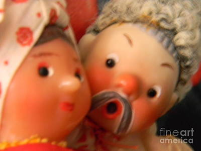 Doll Photograph - Russian Doll Couple by Anita V Bauer