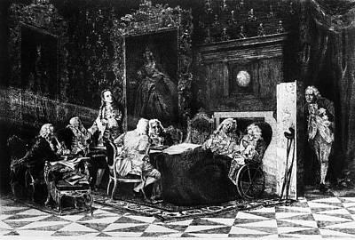 Russian Statesmen, C1740 Print by Granger
