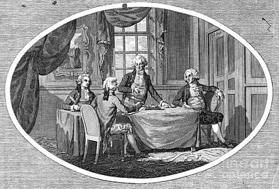 Ottoman Turkish Envoys Photograph - Russo-turkish War, 1791 by Granger