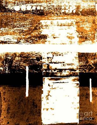 Rustic Modern Print by Marsha Heiken