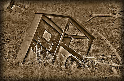 Old Trucks Photograph - Rusting Away by Shane Bechler