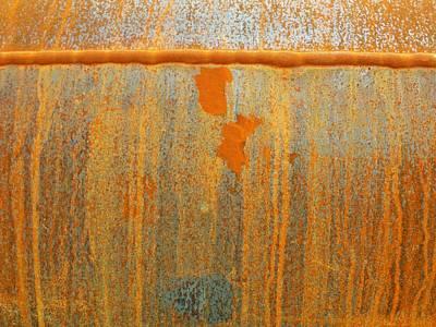 Photograph - Rusty Lines I by Anna Villarreal Garbis