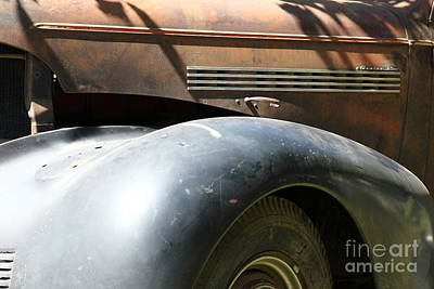 Muscle Car Masters Photograph - Rusty Old 1939 Chevrolet Master 85 . 5d16197 by Wingsdomain Art and Photography