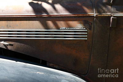 Rusty Old 1939 Chevrolet Master 85 . 5d16199 Print by Wingsdomain Art and Photography