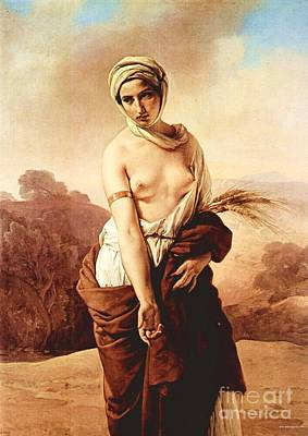Hayez Painting - Ruth by Pg Reproductions