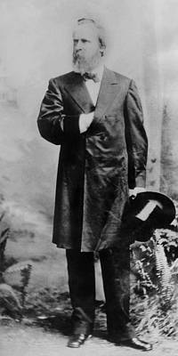 Rutherford B. Hayes 1822-1893 , U.s Print by Everett