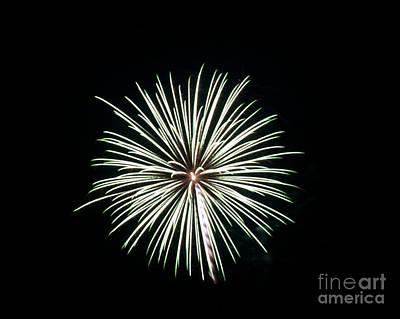 Rvr Fireworks 38 Print by Mark Dodd