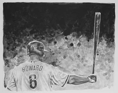 Ryan Howard Original by Paul Autodore
