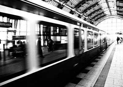 Train Photograph - S-bahn Berlin by Falko Follert