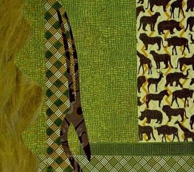 Representative Abstract Mixed Media - Safari by David Raderstorf