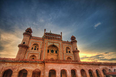 Tomb Photograph - Safdarjung's Tomb by Sudiproyphotography