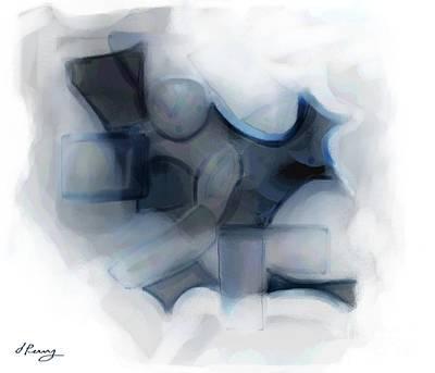 Digital Art - Safeguarding by D Perry