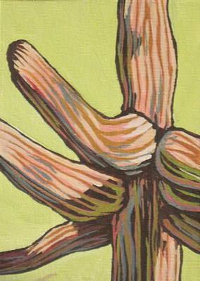 Saguaro Painting - Saguaro 8 by Sandy Tracey