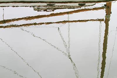 Sailboat Reflect Print by Karol Livote