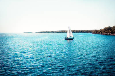 Sailboat Print by Thousand Word Images by Dustin Abbott