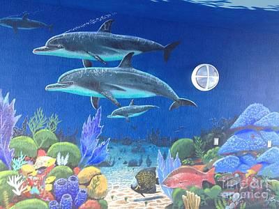 Sailfish Splash Park 2 Print by Carey Chen
