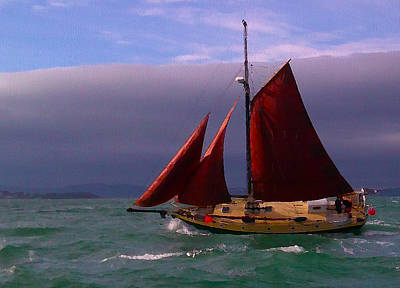 Sailing  Original by Chris Cardwell
