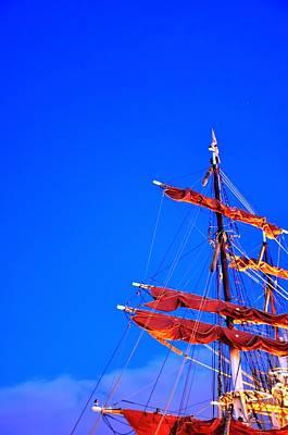 Hamburg Digital Art - Sails by Barry R Jones Jr