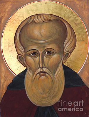 Egg Tempera Painting - Saint Demetrius by Christine Hales