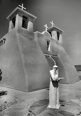 Adobe Church Photograph - Saint Francis And San Francisco De Asis Church I by Steven Ainsworth
