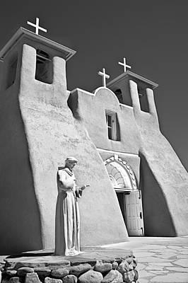 Saint Francisco De Asis Mission Print by Melany Sarafis