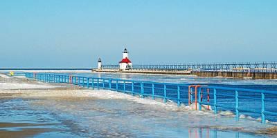 Midday Photograph - Saint Joseph North Pier 2603 by Michael Peychich