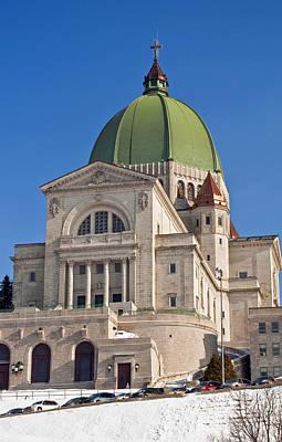 Montreal Landmarks Photograph - Saint Joseph Oratory. by Fernando Barozza