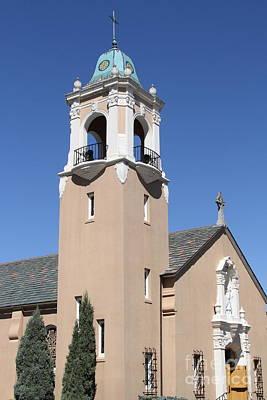 Saint Patrick's Church - Larkspur California - 5d18550 Print by Wingsdomain Art and Photography