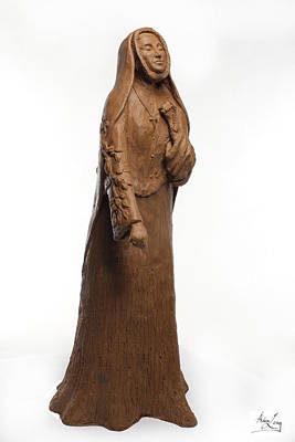 Strong America Sculpture - Saint Rose Philippine Duchesne by Adam Long