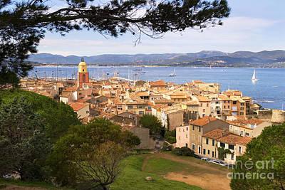 Saint Tropez 1 Print by John James