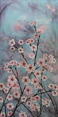 Sakura Print by Yulia Litvinova