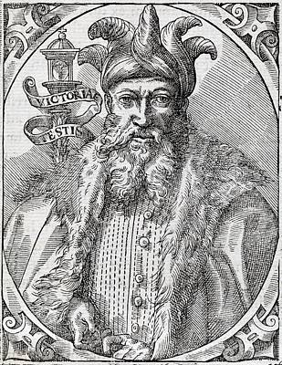 Saladin, Sultan Of Egypt And Syria Print by Middle Temple Library