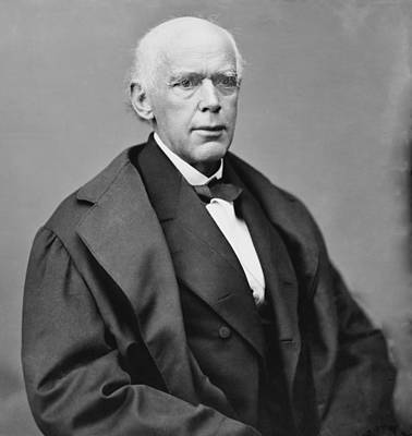 Salmon P. Chase 1808-1873, As Chief Print by Everett