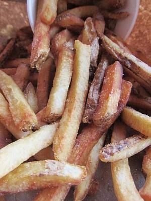 Photograph - Salted Fries by Todd Sherlock