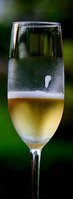Salud Via Champagne Original by Linda  Dawn Carson