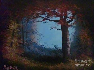 Sam Houston Painting - Sam Houston National Forest by Robert Ballance
