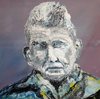 Samual Beckett Print by Gerard Dillon