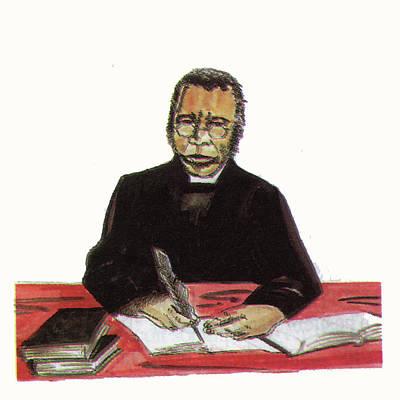 Samuel Ajayi Crowther Print by Emmanuel Baliyanga