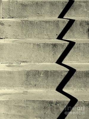 San Andreas Stairs Print by Joe Jake Pratt