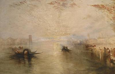 Campanile Painting - San Benedetto Looking Toward Fusina by James Baker Pyne