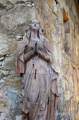 San Carlos Borromeo De Carmelo Mission 6 Print by Bob Christopher