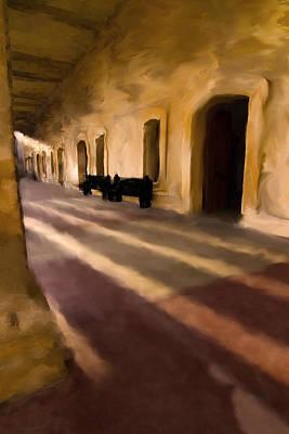 San Cristobal Shadows Print by Sven Brogren